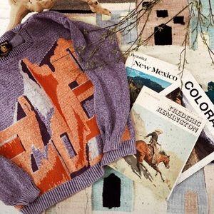 Sweaters - Vintage Southwest knit sweater